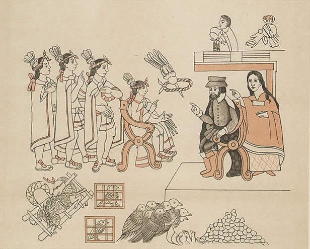 La Malinche, intérprete en el descubrimiento de América